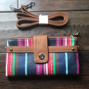 NWT Relic convertible wallet/purse